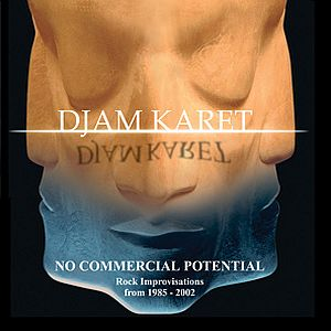 Djam Karet - No Commercial Potential, Rock Improvisations from 1985-2002 CD (album) cover