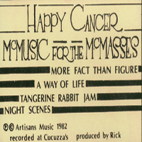 Djam Karet Happy Cancer: McMusic for the McMasses album cover