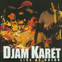 Djam Karet Live At Orion album cover