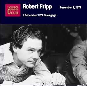 Disengage by FRIPP, ROBERT album cover