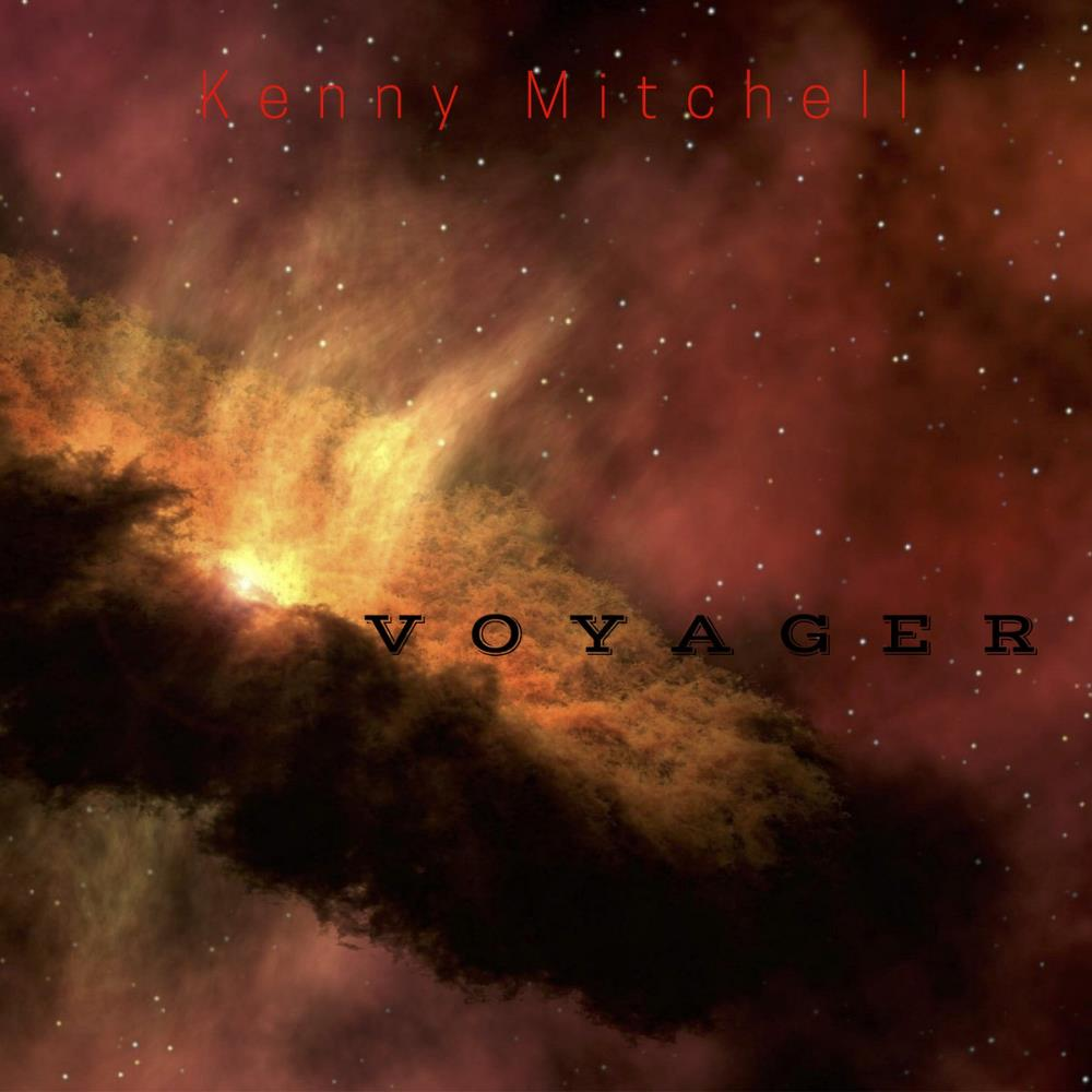 Kenny Mitchell - Voyager CD (album) cover