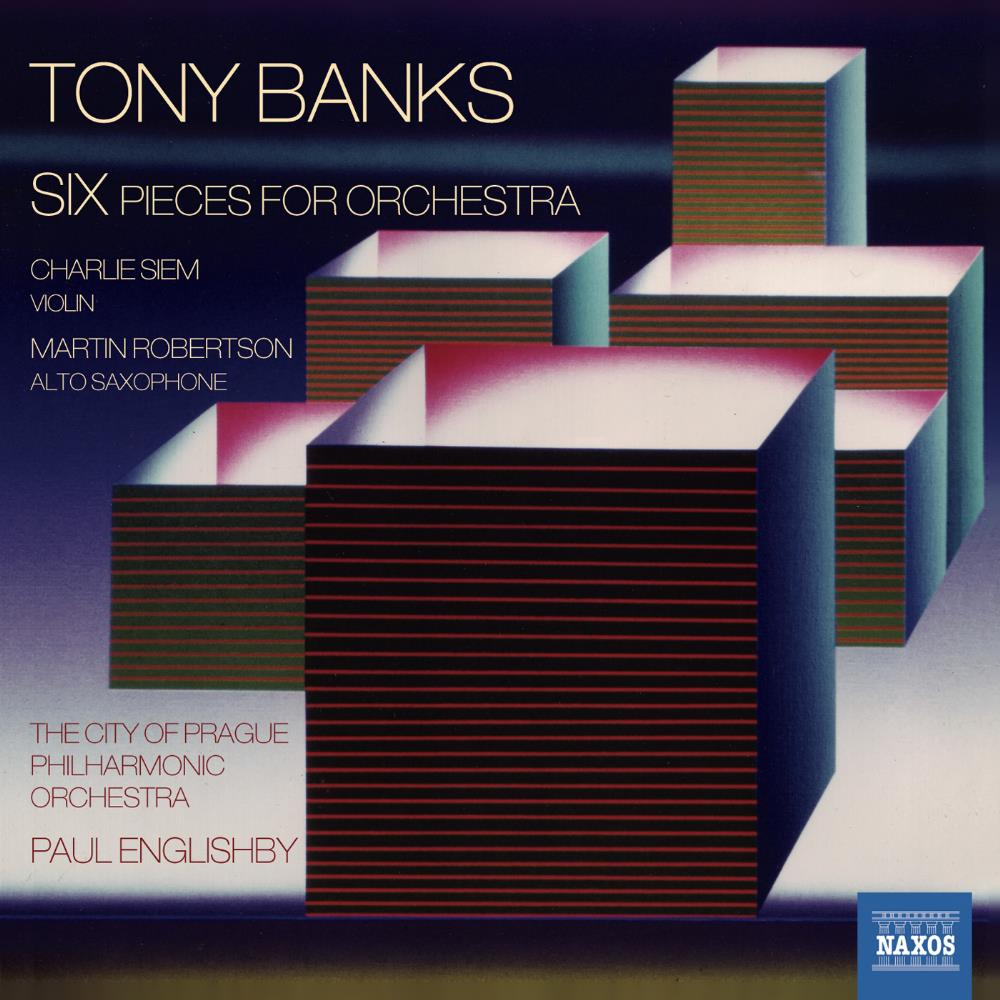 Six - Pieces For Orchestra by BANKS, TONY album cover
