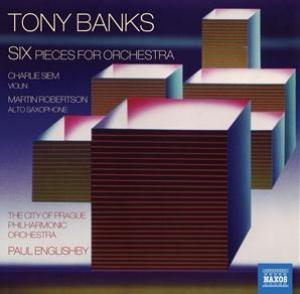 Tony Banks - Six (pieces for orchestra) CD (album) cover