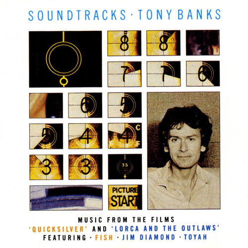 Tony Banks - Soundtracks CD (album) cover