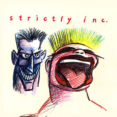 Tony Banks Strictly Inc. album cover