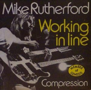 Working in Line by RUTHERFORD, MIKE album cover