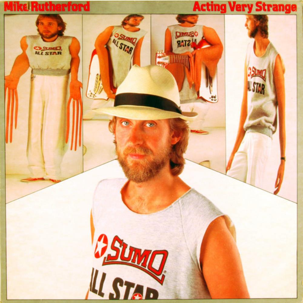 Mike Rutherford - Acting Very Strange CD (album) cover