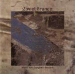 Zoviet France - Music for a Spaghetti Western CD (album) cover