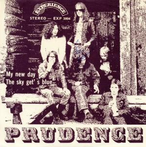 Prudence My New Day / The Sky Gets Blue album cover