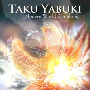Modern World Symphony by YABUKI, TAKU album cover