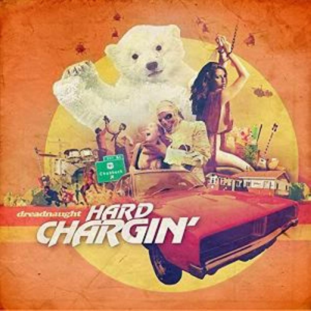 Hard Chargin' by DREADNAUGHT album cover