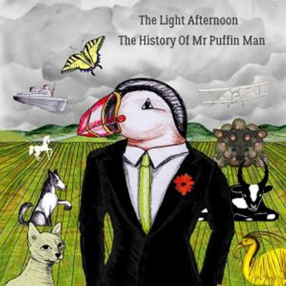 The History Of Mr Puffin Man by LIGHT AFTERNOON, THE album cover