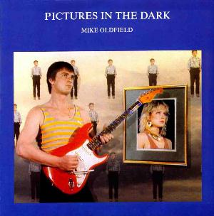 Mike Oldfield - Pictures in the Dark CD (album) cover
