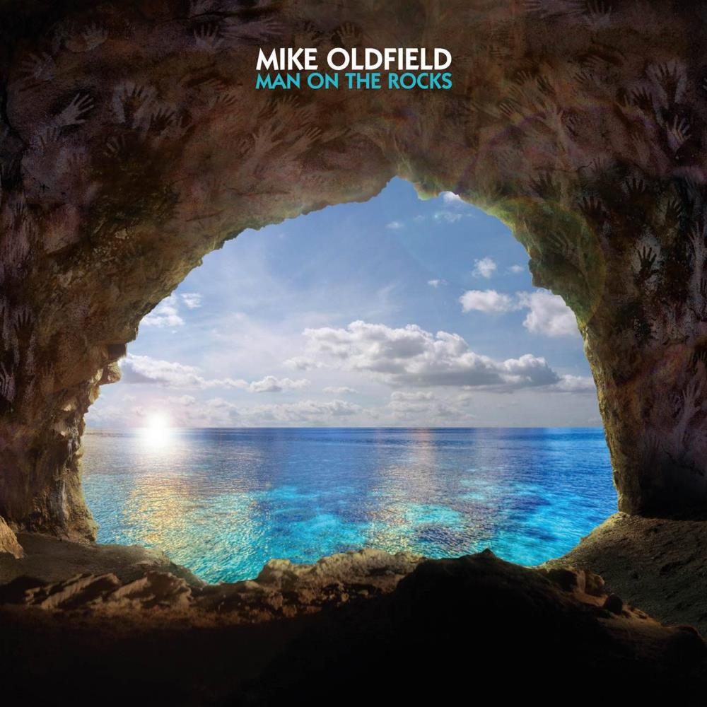 Mike Oldfield Man On The Rocks album cover