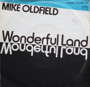 Mike Oldfield Wonderful Land album cover