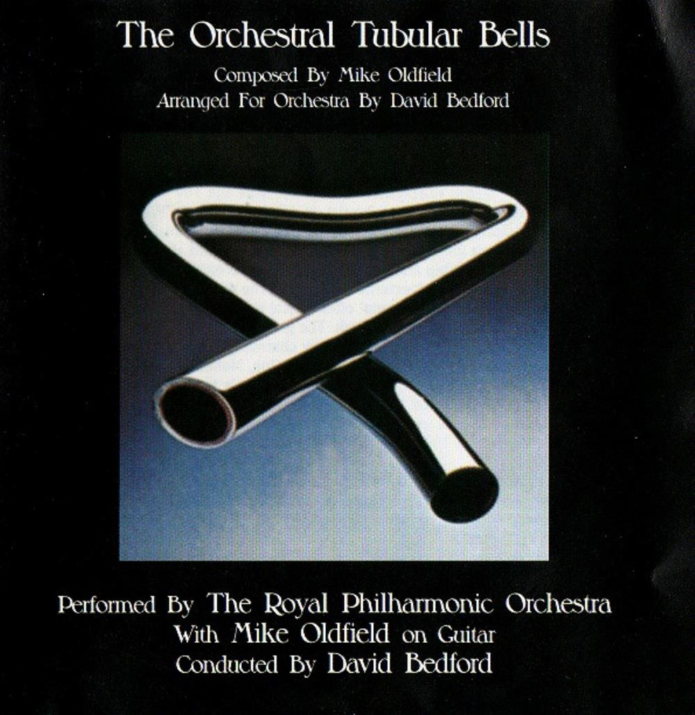 Mike Oldfield The Orchestral Tubular Bells album cover