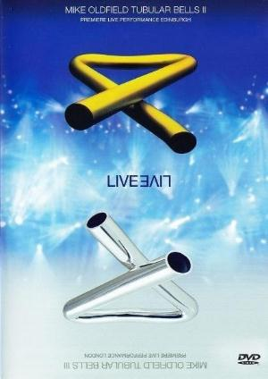 Mike Oldfield Tubular Bells II & III Live (DVD) album cover