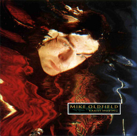 Mike Oldfield - Earth Moving CD (album) cover