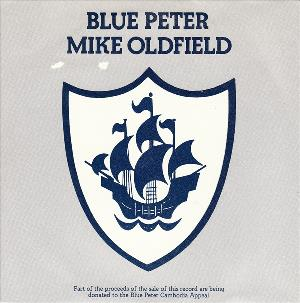 Mike Oldfield Blue Peter album cover