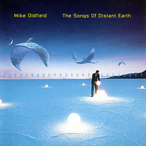 Mike Oldfield The Songs of Distant Earth album cover