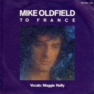 Mike Oldfield To France album cover