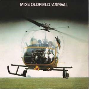 Mike Oldfield Arrival album cover