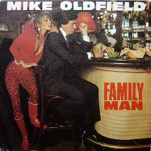 Mike Oldfield Family Man album cover