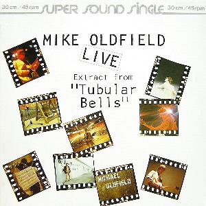 Mike Oldfield Extract From Tubular Bells (live) album cover