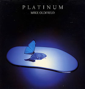 Mike Oldfield Platinum album cover