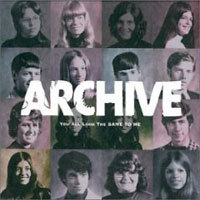 Archive - You All Look The Same To Me CD (album) cover
