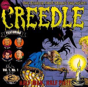 Half Man, Half Pie!! by CREEDLE album cover