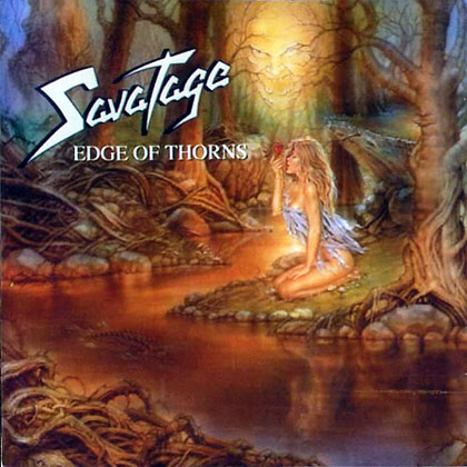 Savatage - Edge of Thorns CD (album) cover