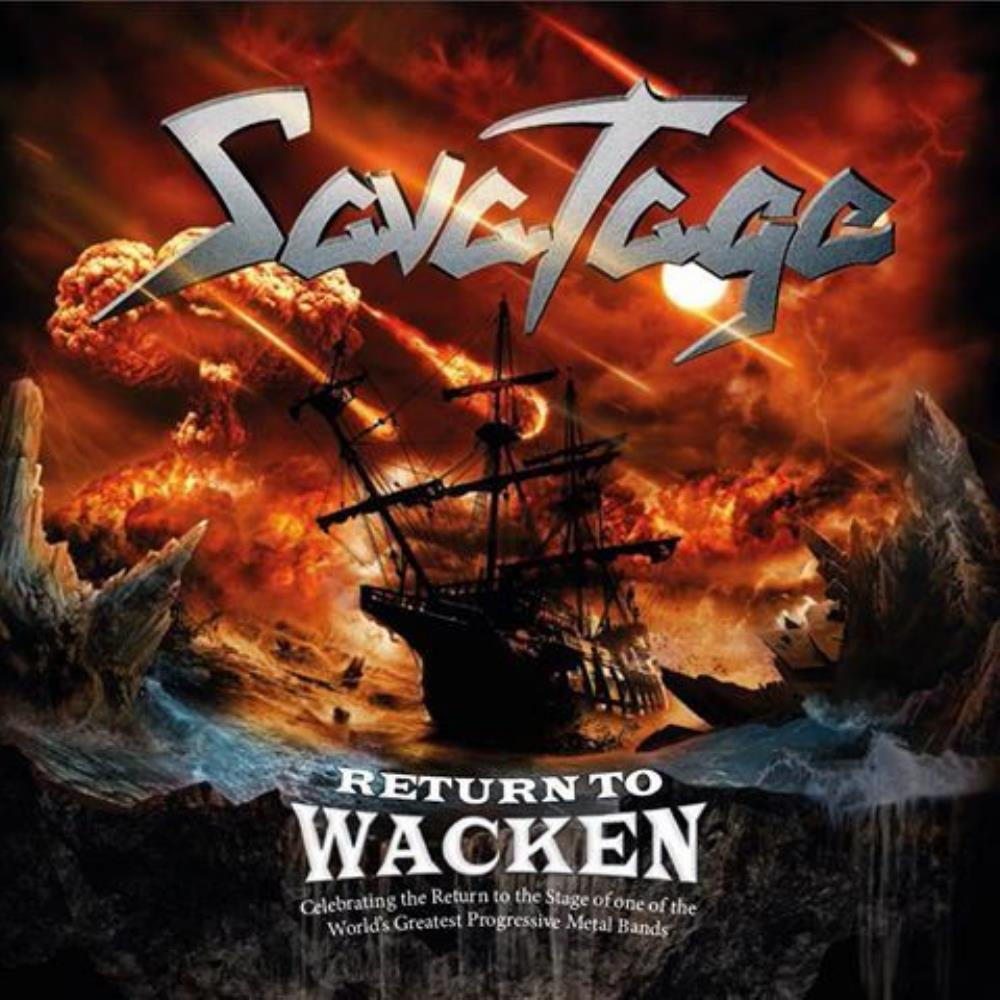 Savatage Return to Wacken album cover