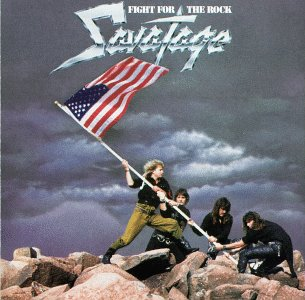 Savatage Fight For The Rock album cover