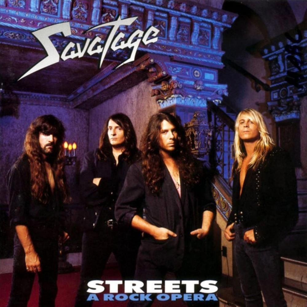 Savatage Streets - A Rock Opera album cover