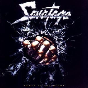 Power Of The Night by SAVATAGE album cover