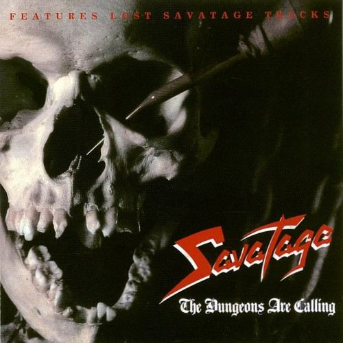 Savatage - The Dungeons Are Calling CD (album) cover