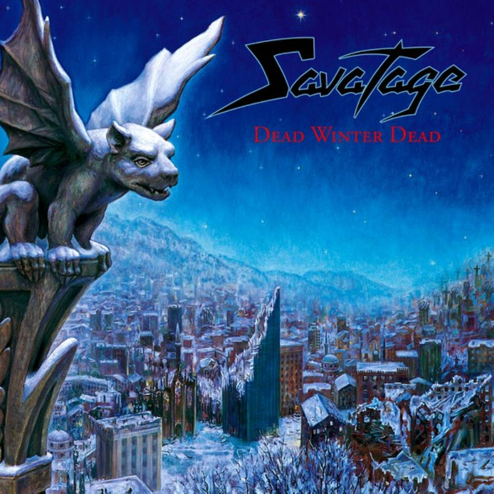 Savatage - Dead Winter Dead CD (album) cover