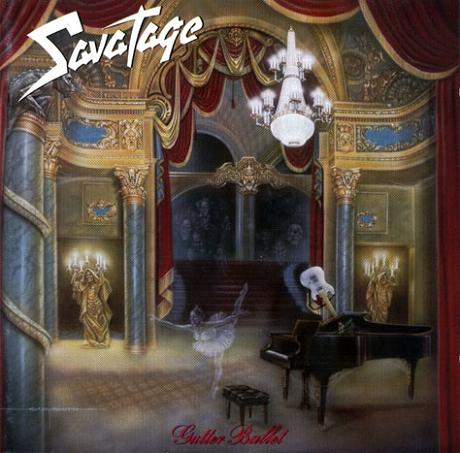 Savatage - Gutter Ballet CD (album) cover