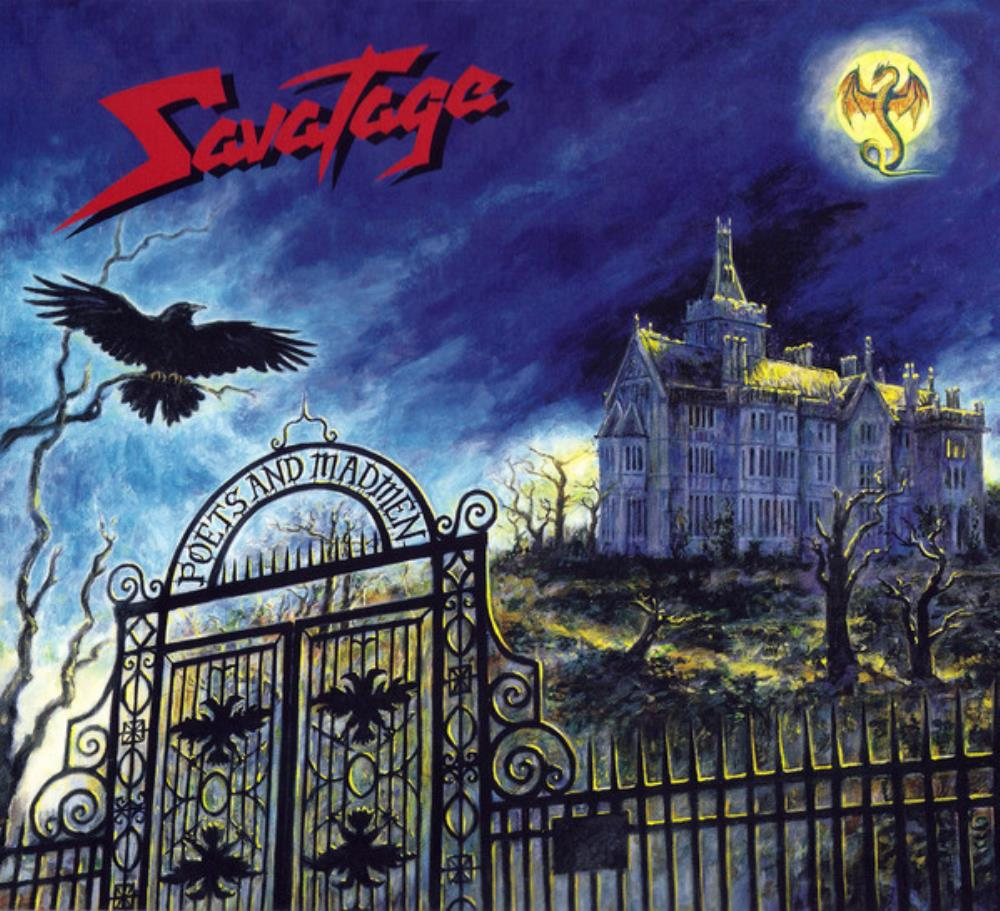 Poets & Madmen by SAVATAGE album cover