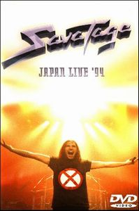 Savatage Japan Live '94 album cover