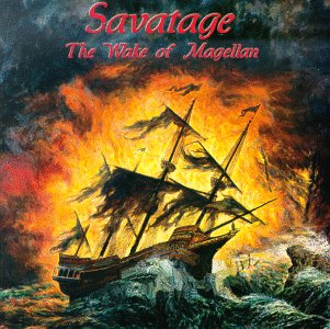 Savatage - The Wake of Magellan CD (album) cover