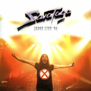 Japan Live '94 by SAVATAGE album cover