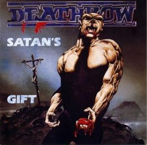 Satan´s Gift (Riders of Doom) by DEATHROW album cover