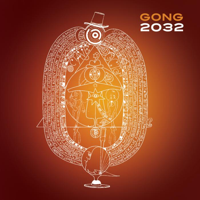 Gong - 2032 CD (album) cover