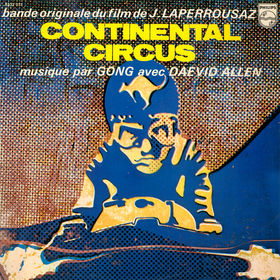 Gong - Continental Circus CD (album) cover