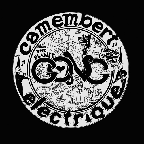 Gong - Camembert Electrique CD (album) cover
