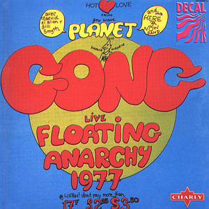 Gong Live Floating Anarchy 1977 album cover