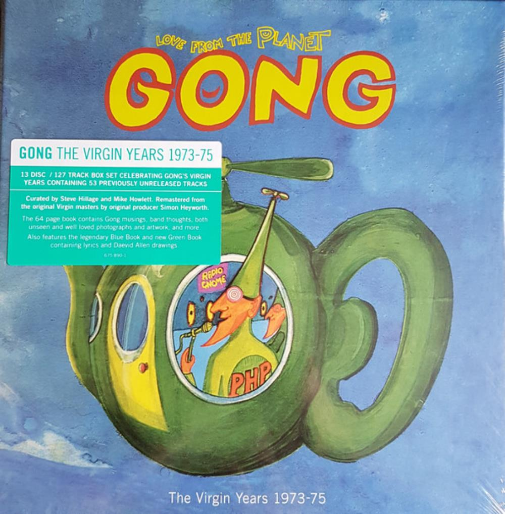 Love from the Planet Gong (The Virgin Years 1973-75) by GONG album cover