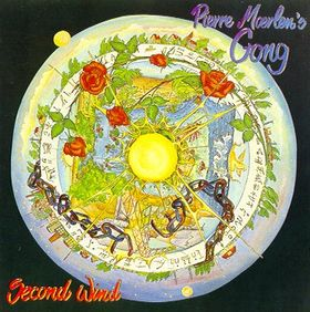 Gong - Second Wind CD (album) cover